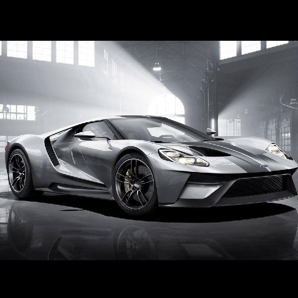 Lima Drive Modes pada Ford GT Supercar
