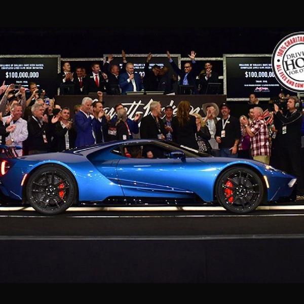 Ford GT dan Corvette ZR1 Dilelang Untuk Charity