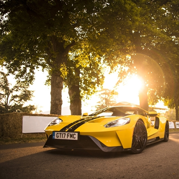 Ford GT Tampil Perdana di Goodwood