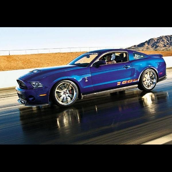 Ford Mustang Konsep Shelby Super Snake Wide Body Segera Diproduksi?