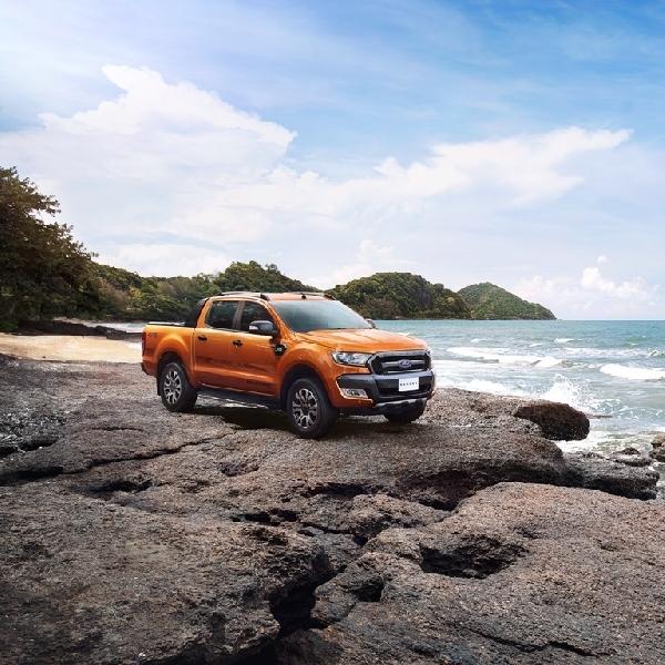 New Ford Ranger Raih Bintang 5 ASEAN NCAP