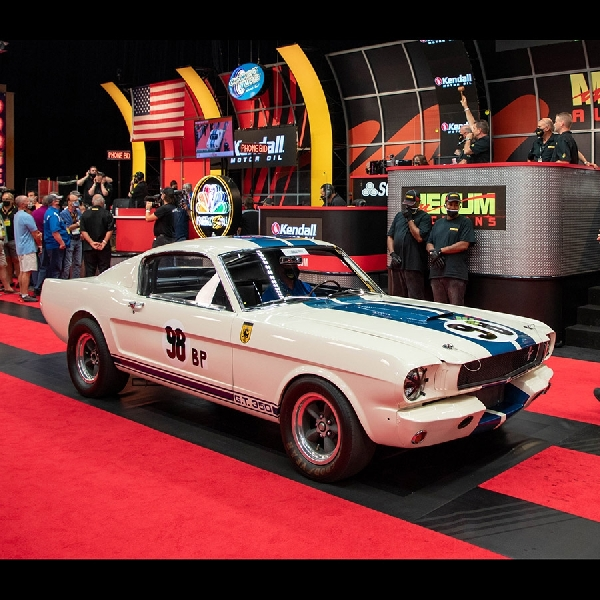 Ford Shelby GT350 R 'Flying Mustang' Ini Terjual Rp57 Miliar, Seberapa Istimewa sih?