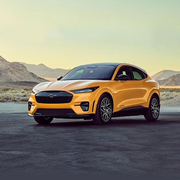 Ford Ungkap Performa Mustang Mach-E GT Dengan Torsi Lebih Besar