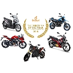 Lima Motor Berbagai Genre Berebut Gelar FORWOT Motorcycle of the Year 2016