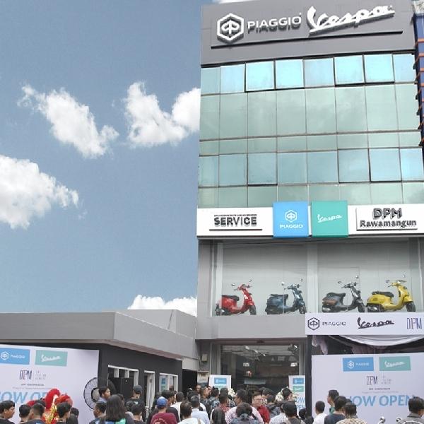 Resmikan Diler Baru di Rawamangun, Piaggio Indonesia Cukup Optimis Pada Varian Produknya