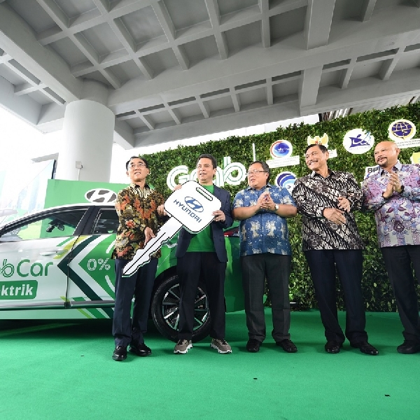 20 Unit Hyundai Ioniq Electric Dioperasikan Grab Indonesia