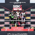 WSSP 300 Portimao : Scoot Deroue Naik Podium, Galang Hendra Gagal Finish
