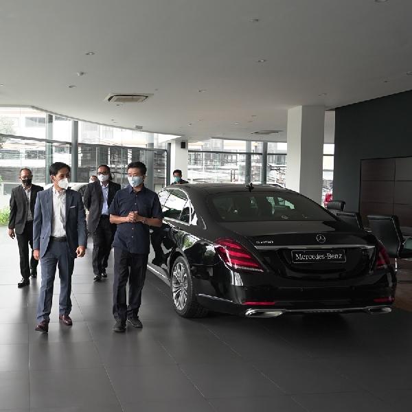 Lama Ditutup Akibat Covid-19, Seluruh Dealer Mercedes-Benz Indonesia Kembali Dibuka