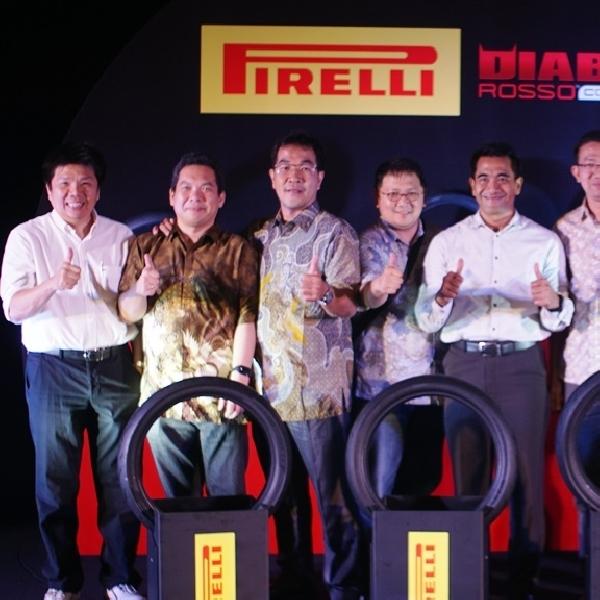 Pirelli Luncurkan Diablo Rosso Khusus untuk Motor Underbone