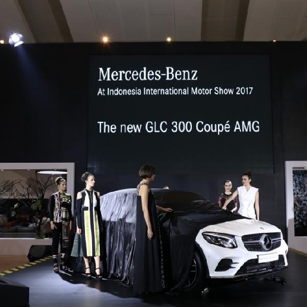 Mercedes-Benz Luncurkan GLC Coupe di IIMS 2017