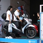 Piaggio Berikan Promo Menarik di Jakarta Fair