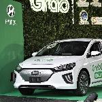 Resmi, Grab Gunakan Hyundai Ioniq di Indonesia