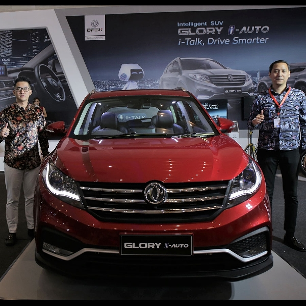 DFSK Glory I-Auto Sapa Warga Surabaya di Gelaran IIMS 2019
