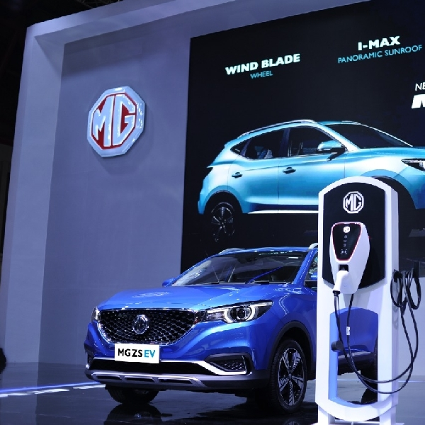 MG Perkenalkan Varian ZS EV Berteknologi I-Smart di IIMS Hybrid 2021