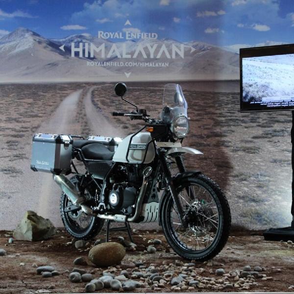 Royal Enfield Himalayan Akhirnya Dirilis di IIMS 2018