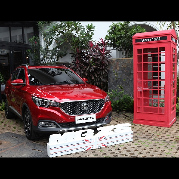 MG ZS Coba Peruntungan Market SUV di Indonesia