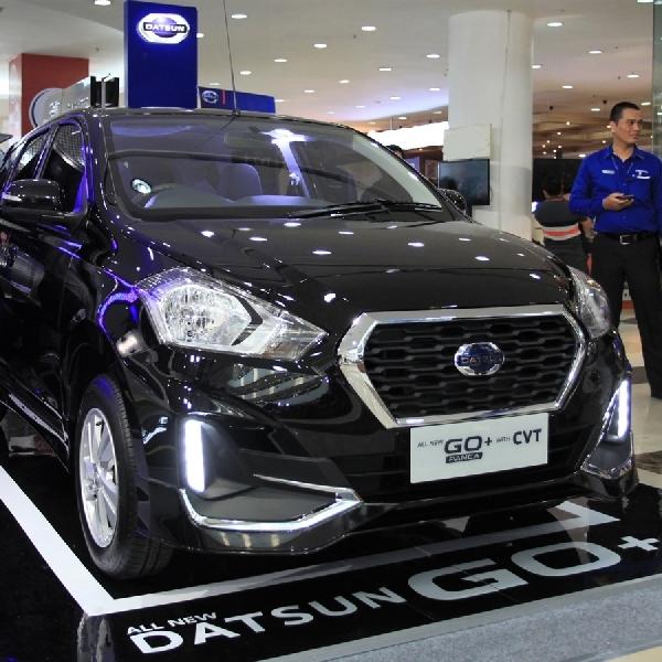 Datsun boyong Go+ Panca CVT ke Medan