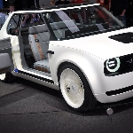 Interior Prototipe Mobil Listrik Honda untuk Geneva Motor Show 2019