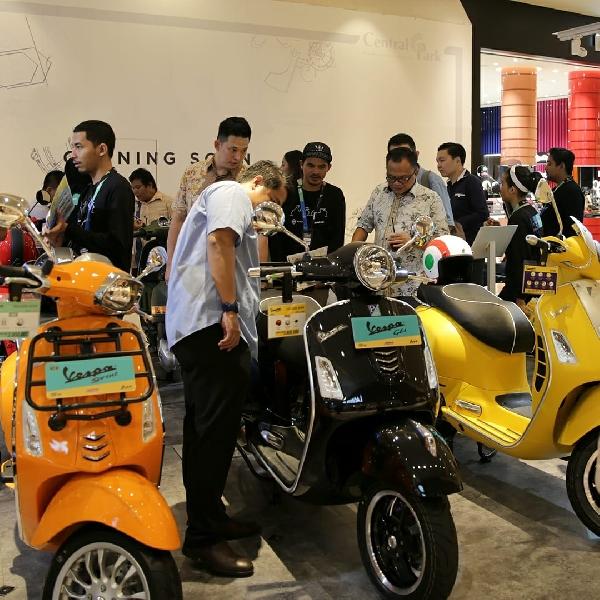Piaggio Indonesia Menyapa Warga Melalui Mall-to-Mall Exhibition