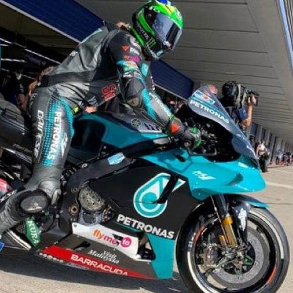 MotoGP: Franco Morbidelli Sebut Balapan Qatar Pertarungan Tiga Tim