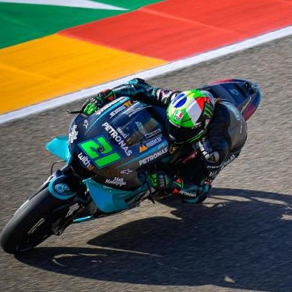 MotoGP: Franco Morbidelli Takjub Dengan Kecepatan Suzuki di GP Aragon