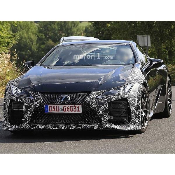 Lexus Bakal Hadirkan LC yang Lebih Agresif