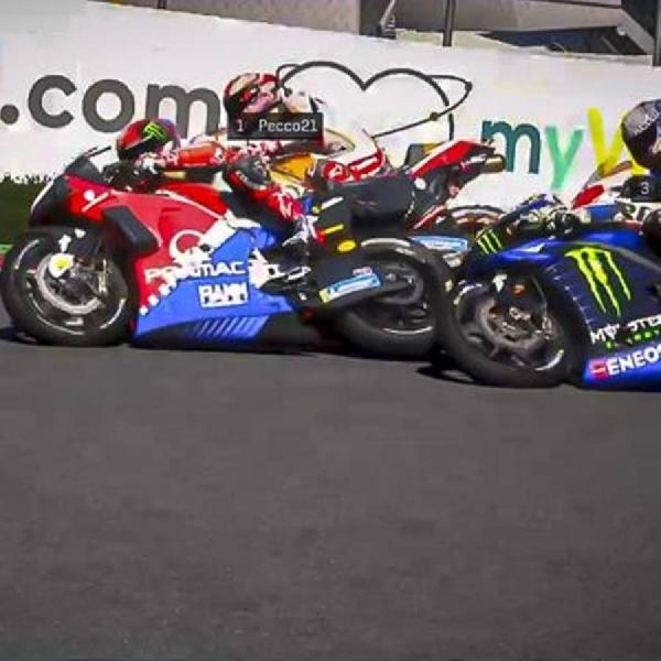 MotoGP: MotoGP Virtual Race Kedua, Jadi Balapan Maya Perdana Rossi