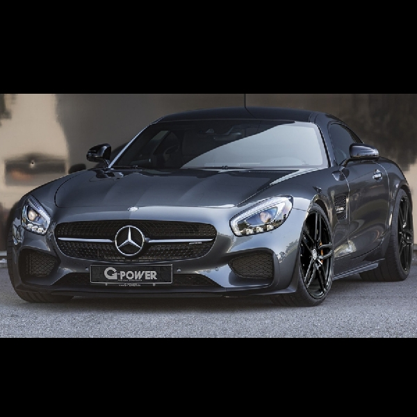 Mercedes-AMG GT 610 hp oleh G-Power