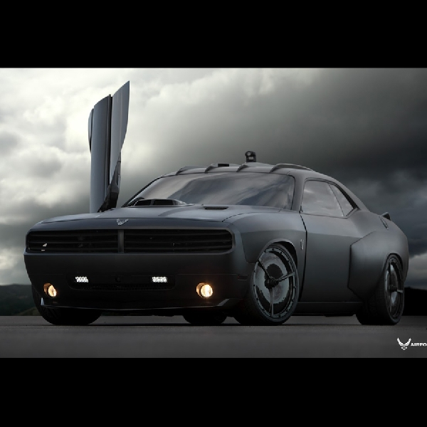 Dodge Vapor 2009 Berteknologi Tinggi US Air Force Dilelang