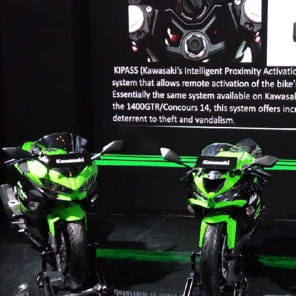 Tiga Varian Kawasaki Ninja 250 Kini Dilengkapi dengan Fitur Keyless