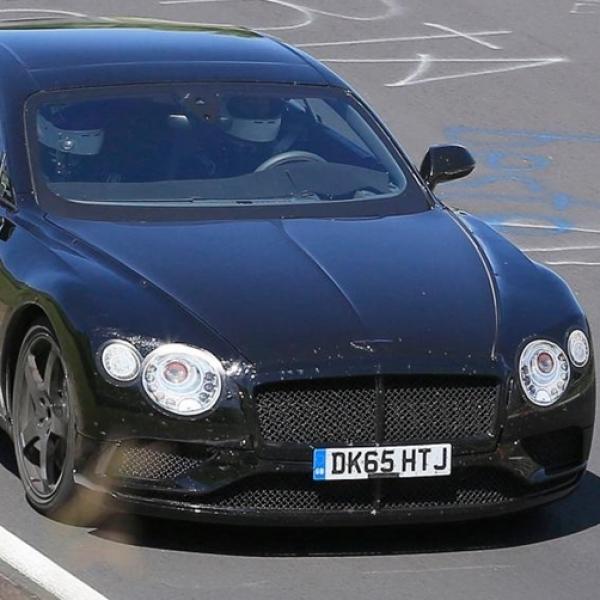 Generasi Baru Bentley Continental GT Terbidik Kamera