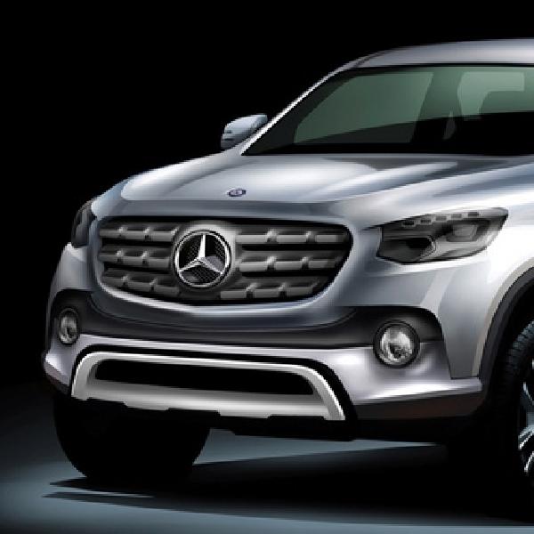 Generasi Baru Pikap Mercedes Benz Akan Menyadang Nama X-Class?