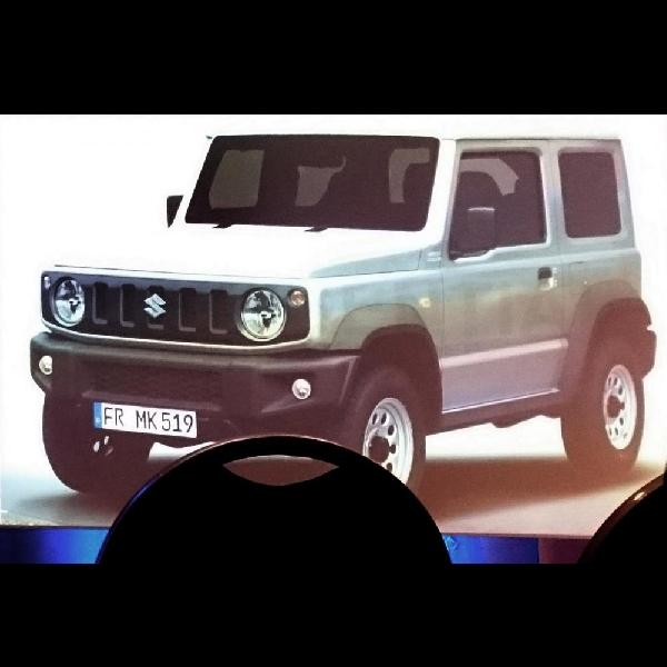 Generasi Baru Suzuki Jimny Mulai Terkuak