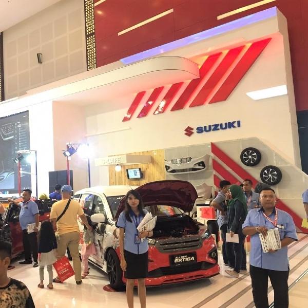 Suzuki Tembus Target Penjualan di GIIAS Surabaya 2019