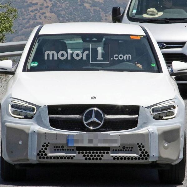 Rupa Mercedes-Benz GLC Coupe Facelift Makin Terlihat Jelas