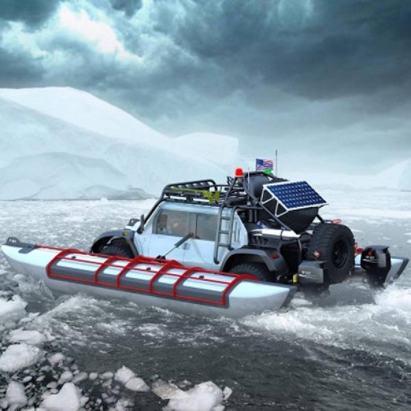 Glickenhaus Undang Automaker  untuk Amphibious Transcontinental Journey