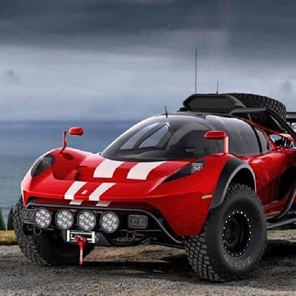 Glickenhaus Rancang Mobil Off Road Dengan Body Supercar