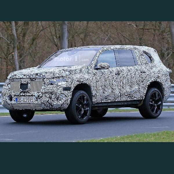 Mercedes-Benz Tengah Menyiapkan Generasi Baru GLS