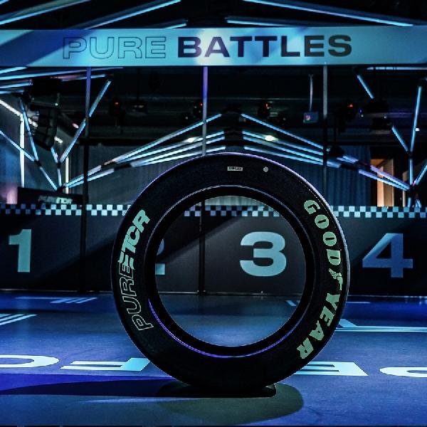 GOODYEAR Bermain di Balap Pure Electric Touring Car Series 2020