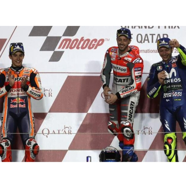 Dua Pembalap Italia Kuasai GP Qatar