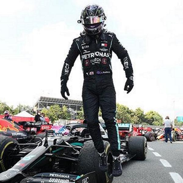 F1: Grand Prix Formula 1 Spanyol, Lewis Hamilton Sukses Pertahankan Dominasi