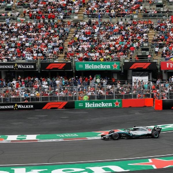 Grand Prix Meksiko Perpanjang Kontrak Tiga Tahun di Formula 1