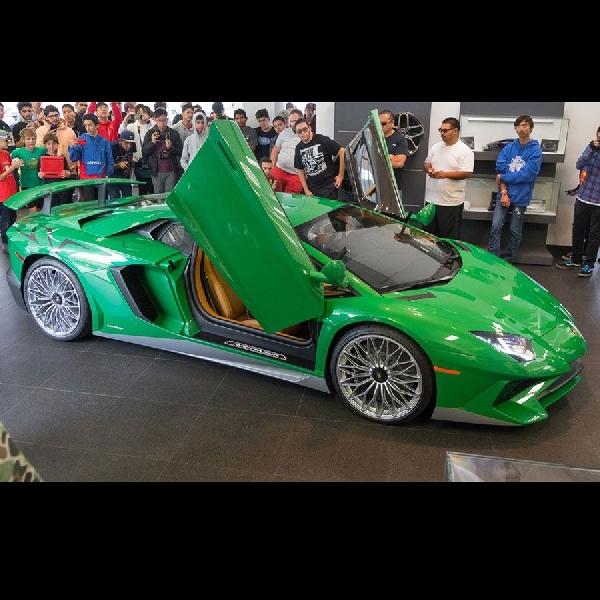 Lamborghini Racik Aventador SV untuk Kenang Sang Legenda Miura SV