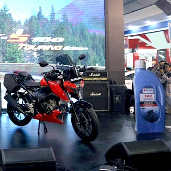 Suzuki Oil SGO 4T 10W40 SL MA Khusus Suzuki GSX 150