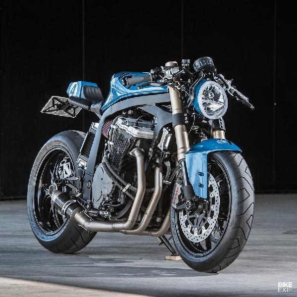 Apa Jadinya Suzuki GSX-R1100 Dikombinasikan Suspensi Milik Ducati?