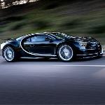 Rasakan Suara Jet dari Bugatti Chiron Ini