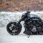 V-Rod 2013 Harley Davidson Dengan Agresor Besar Yang Mengesankan