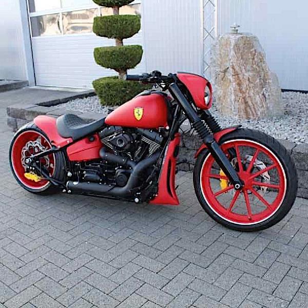 Harley-Davidson Enzo: Wujud Ferrari Versi Roda Dua