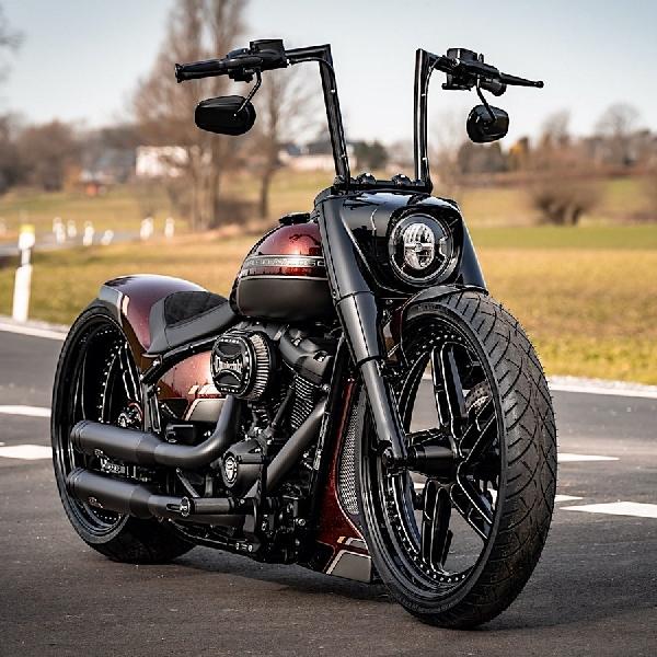 Harley-Davidson Red Force Jelmaan Ikon Original Fat Custom