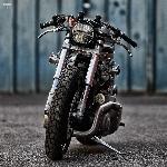 Bruiser: Sepeda Motor Drag Harley Softail dari Belgia